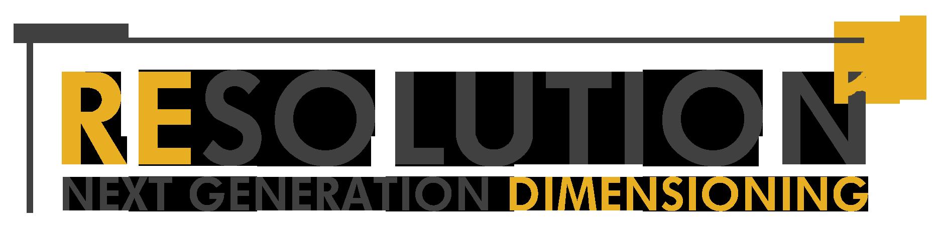 Resolution 2 Dimensioner Logo