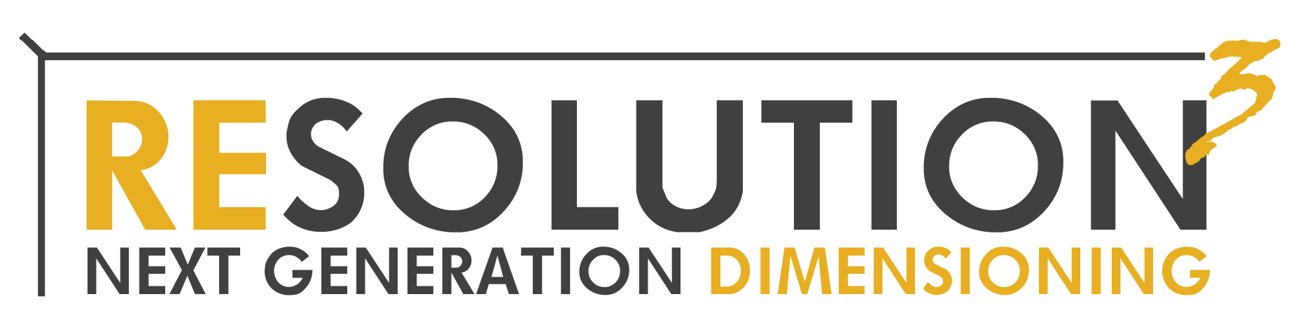 Resolution 3 Dimensioner Logo
