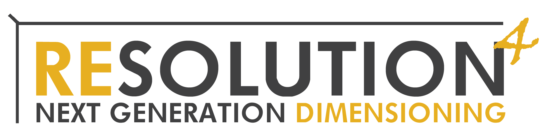 Resolution 4 Dimensioner Logo