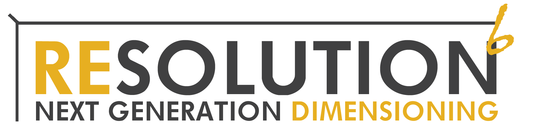 Resolution 6 Dimensioner Logo
