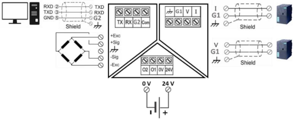 TX12 Wiring