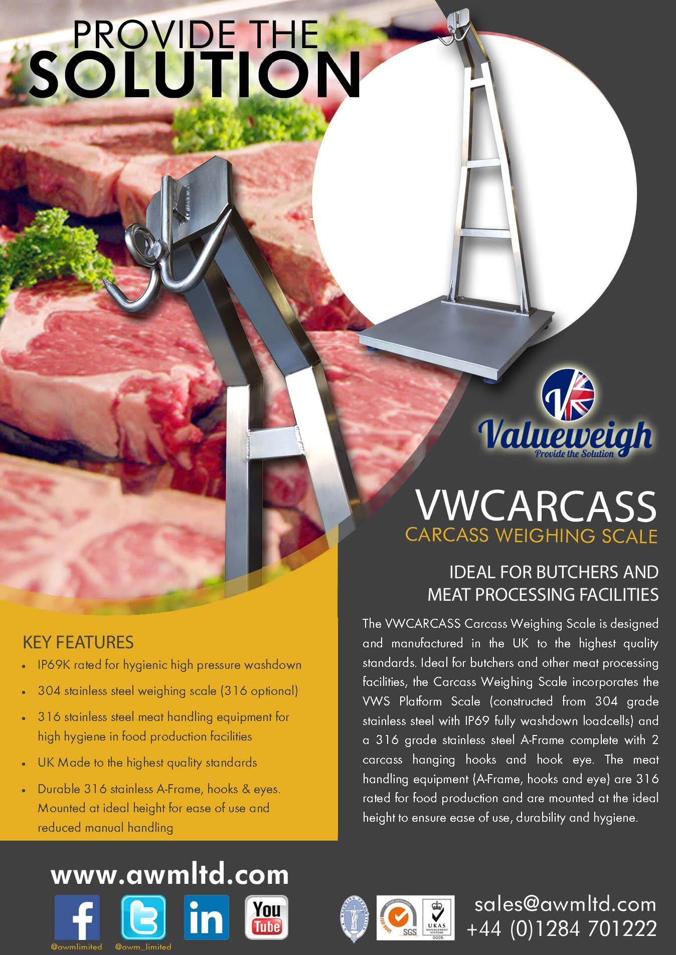 VW Carcass Weigher Literature