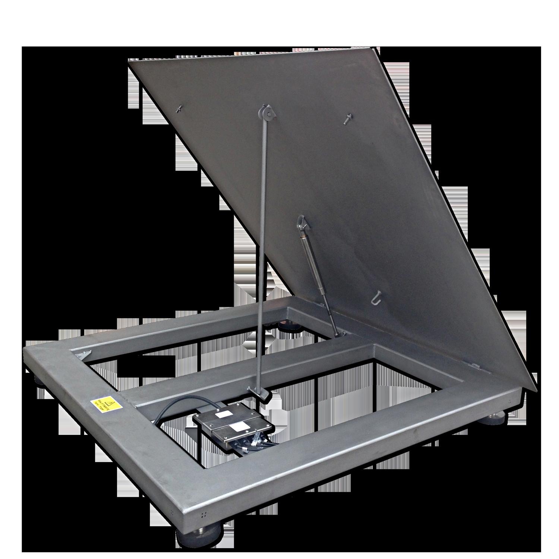 VWSLT Stainless Lift Top Platform Scale