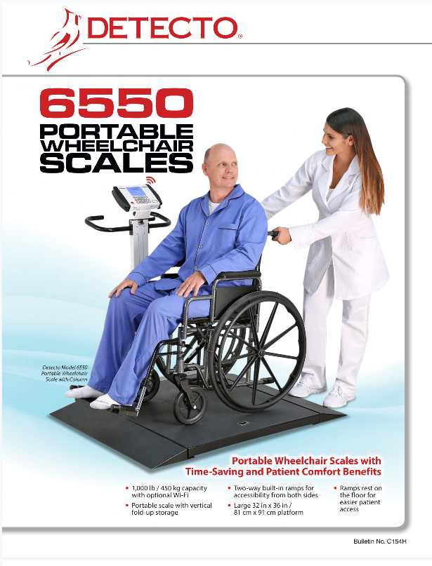 Wheelchair Scale Literature