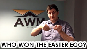 Customer Survey Results and Easter Egg Competition Winner!