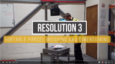 New Video for Resolution 3 Portable Weigh Dimensioning Station