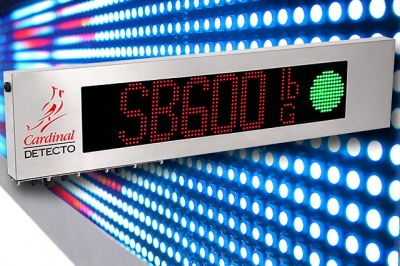 Introducing Cardinal's new SB600 Full Graphic Remote Weight Display