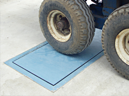 In-Ground Axle Platform