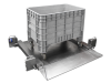 Stainless Mobile Drive-In Scale