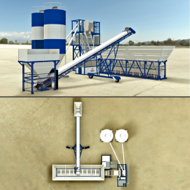 Containerised Batching Plant