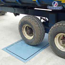In-Ground Axle Platform Scale