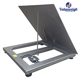 Stainless Lift-Top Scale